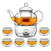 Zarif Cam Çaydanlık Çay Seti – USD $ 44.09