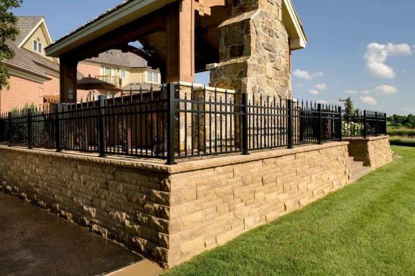Retaining Walls From Modular Block In Minneapolis Mn Southview Design Landscape Structure Landscape Design Building Design
