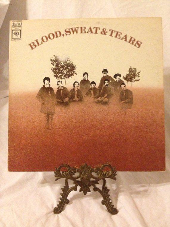 Vintage Record Blood Sweat Tears Album Cs 9720 Vintage