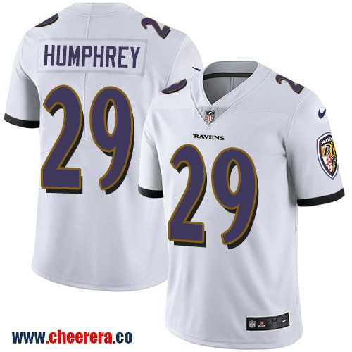 Nike Baltimore Ravens  29 Marlon Humphrey White Men s Stitched NFL Vapor  Untouchable Limited Jersey cd83cb9cd