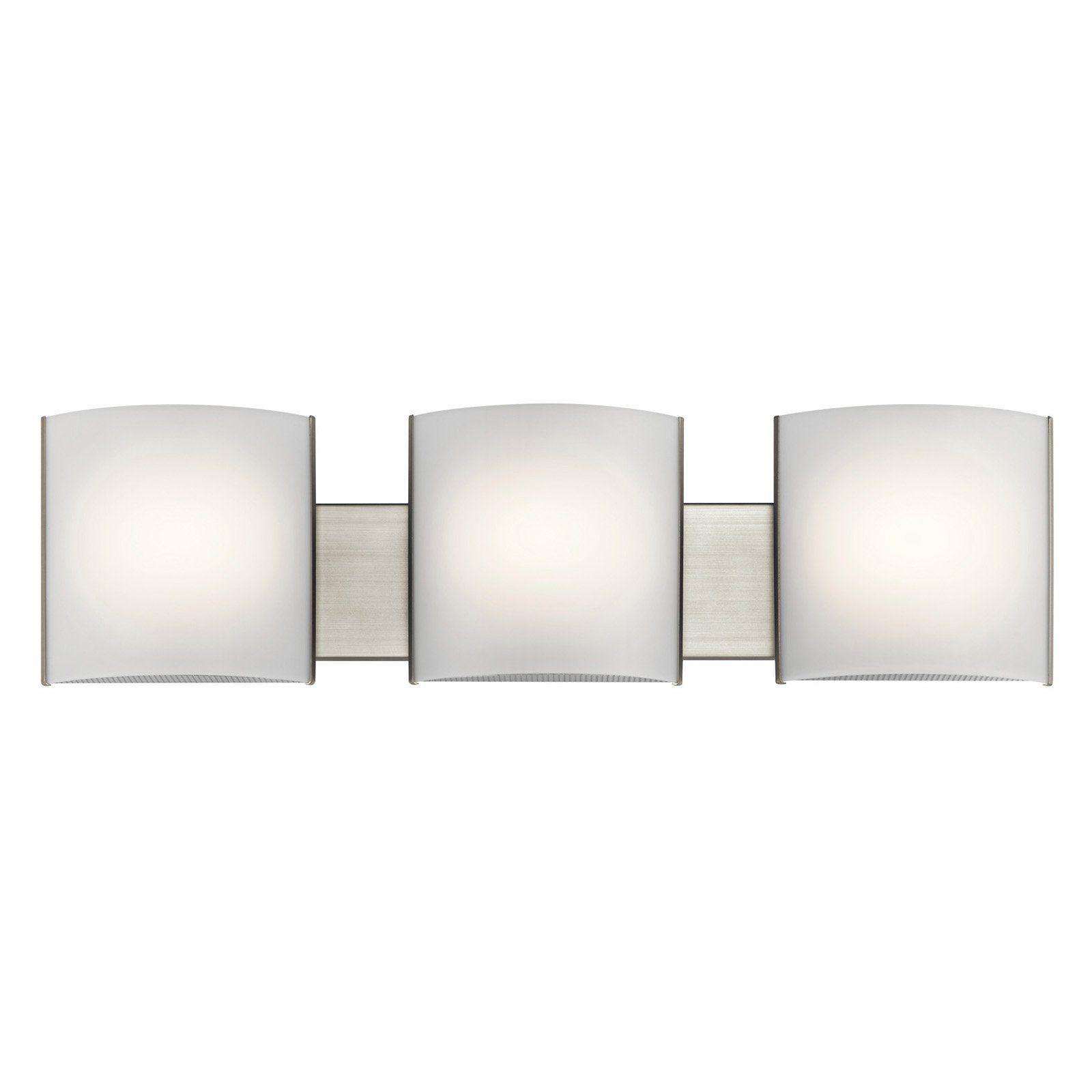 Kichler 10799 3 Light LED Bath Light - 10799NILED | Products ...