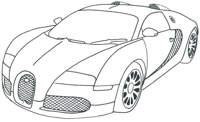 Ausmalbilder Bugatti Zeichen | Kinder Ausmalbilder