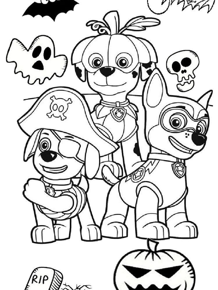 Paw Patrol Coloring Pages Mighty Pups The Following Is Our Collection Of Easy Paw Patro Paw Patrol Coloring Pages Paw Patrol Coloring Halloween Coloring Pages