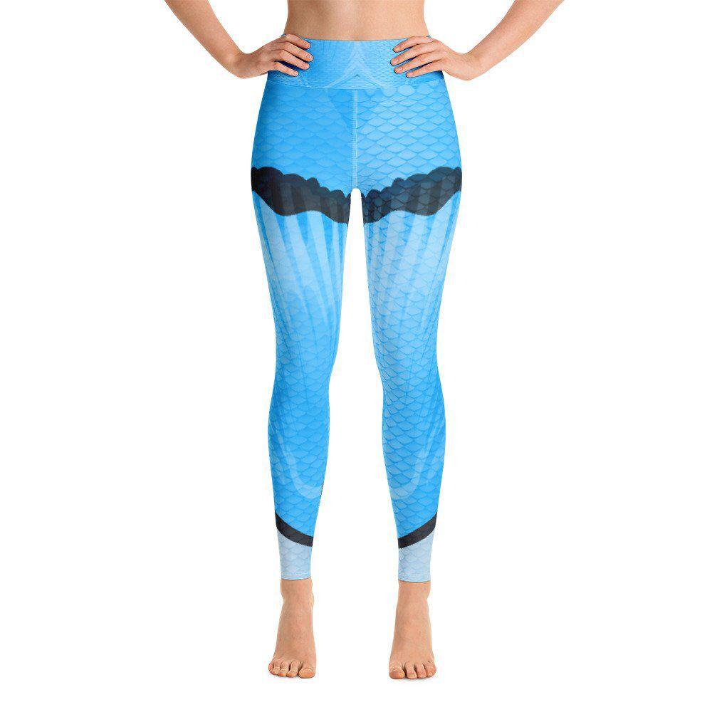 Yoga Pants Leggings for Women Fish Scale Leggings Workout Leggings Mermaid Scales Leggings Printed Leggings Capris Plus Size Leggings