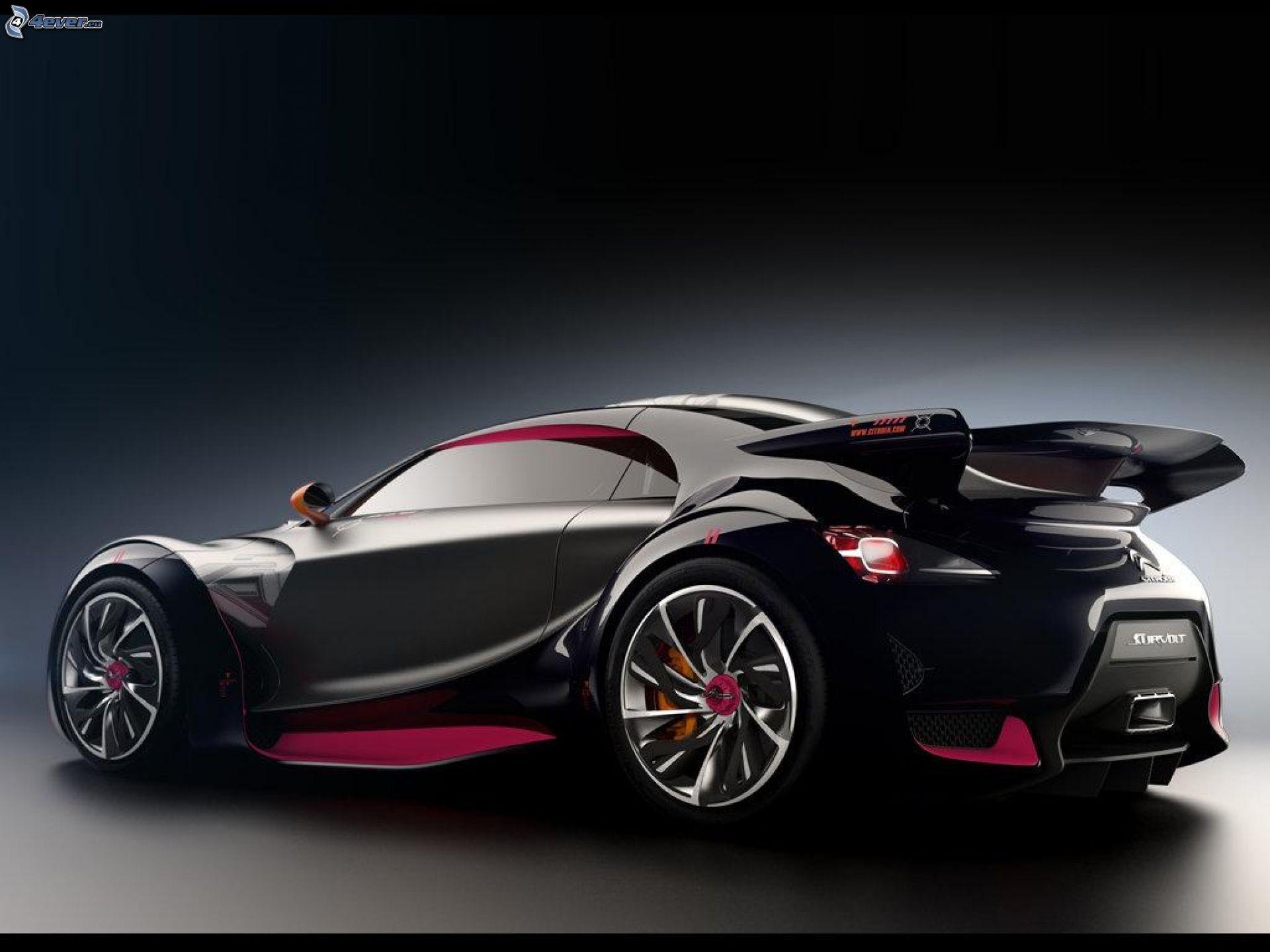 Citroen Survolt Concept   Best Looking Concepts Car At The 2010 Geneva  Motor Show   EXtravaganzi