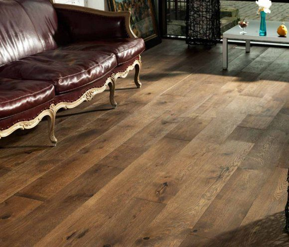 Burnbury Engineered Old Smoked Antique Oak 190mm X 206mm Wood