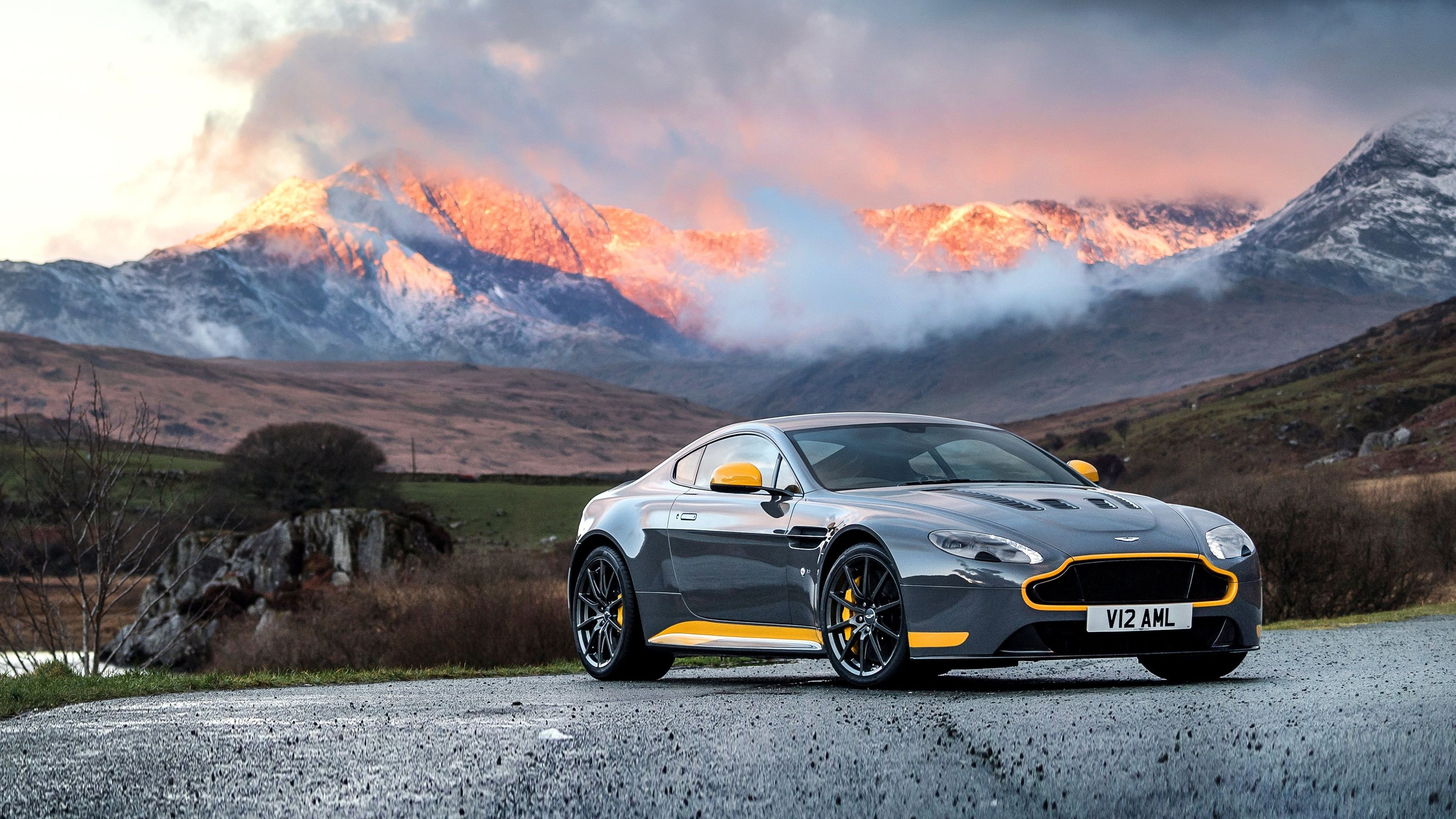 Wallpaper 4K 2017 Aston Martin Vantage GT8 – wallpaperzone.co/…