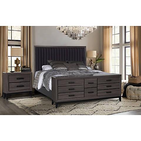 Laura 4 Pc Bedroom Set Beachwood Gray Global Furniture Usa Bedroom Set Global Furniture
