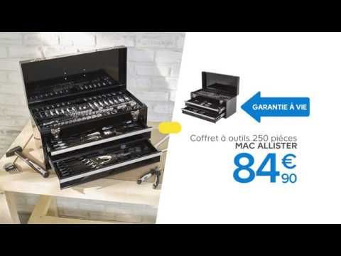 Coffret D Outils Mac Allister 250 Pieces Mac Allister Castorama Youtube Flux Social Coffret Castorama Shopping