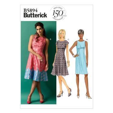 Butterick B5894 Misses Dress Spotlight Australia Spotlight