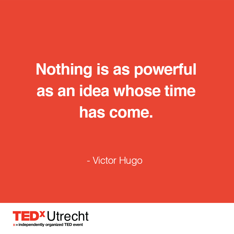 TEDx , Ideas Worth Spreading!