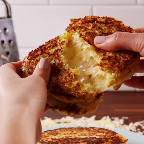 Cauliflower Grilled Cheese