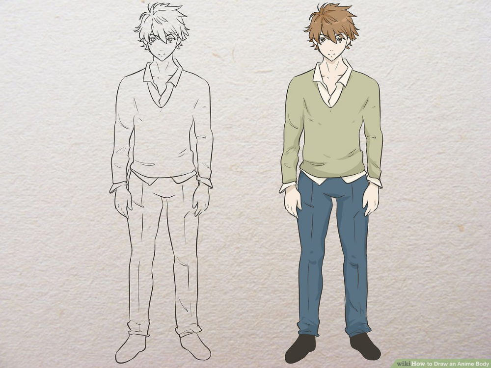 Anime Boy Template Google Search In 2020 Drawing Anime Bodies Guy Drawing Drawings