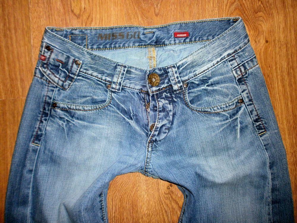 retro attraktiver Stil am besten einkaufen MISS SIXTY PERKINS Jeans Gr. W30 L34 Damen Jeanshose Weites ...