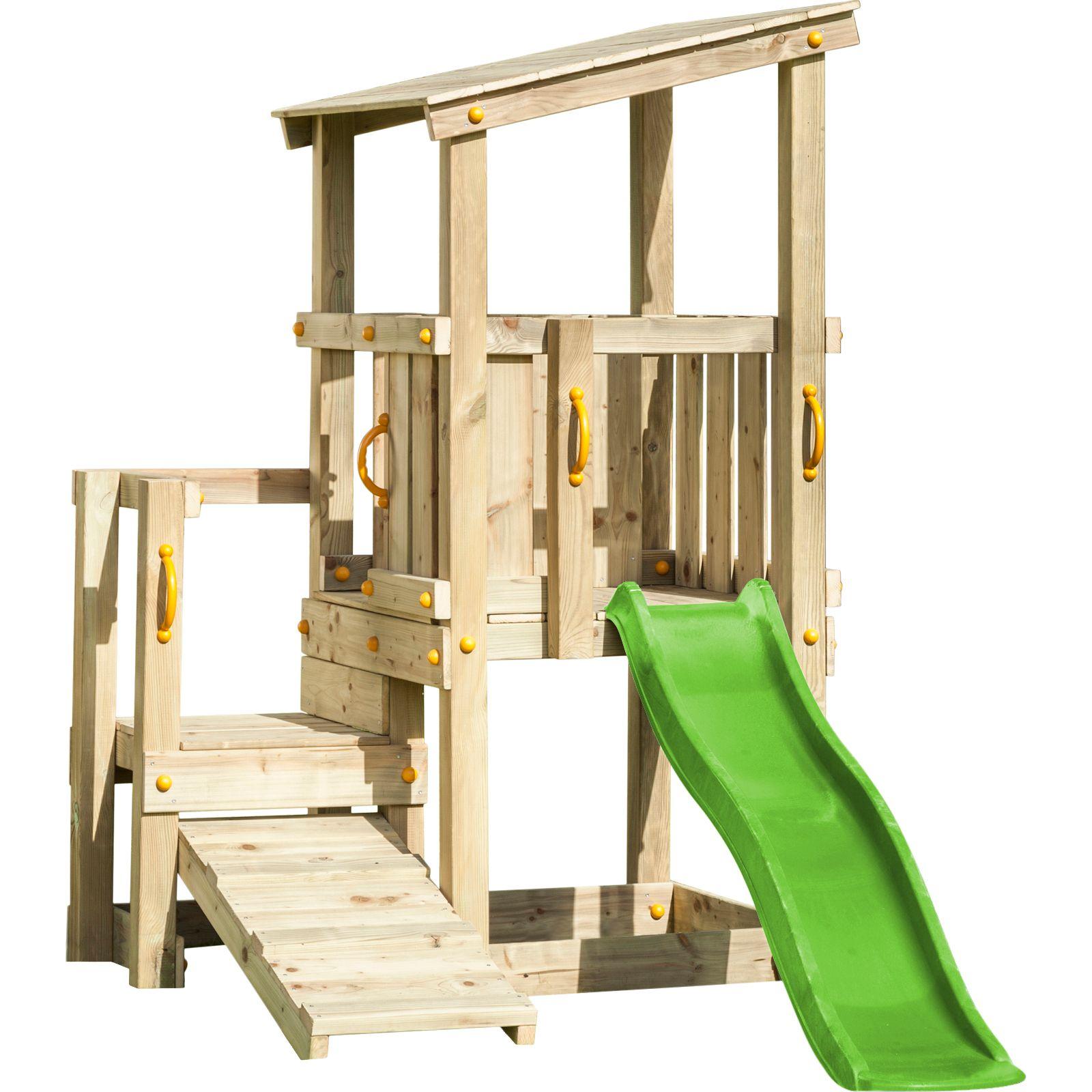 Spielturm Cascade Mit Toller Rampe Zum Hochklettern Ihre Kinder Lieben Das Toben Im Garten Und Sie Sind Auf Der Suche Spielturm Kletterturm Garten Kletterturm