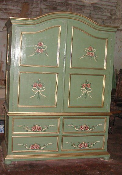 French Armoire Repurpose