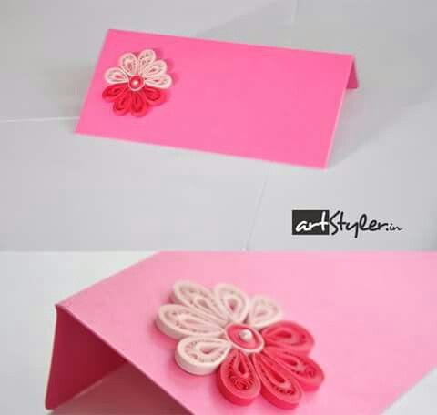Quilled Envelopes(money and gift card size) #quilling #envelopes