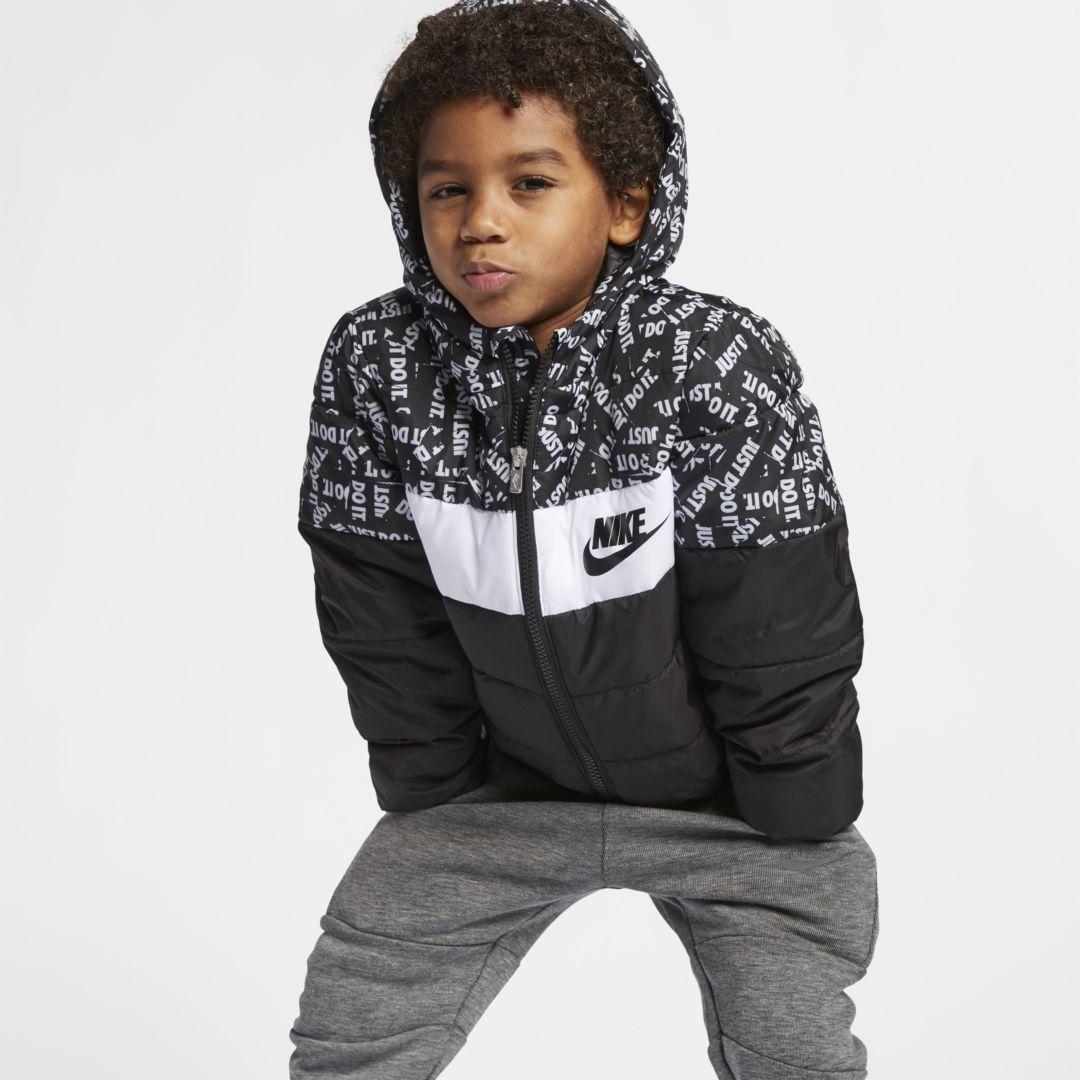Nike Sportswear Toddler Puffer Jacket Size 4t Black Puffer Jackets Nike Sportswear Kids Fashion Show [ 1080 x 1080 Pixel ]