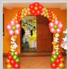 decoracion de navidad con globos - Google Search