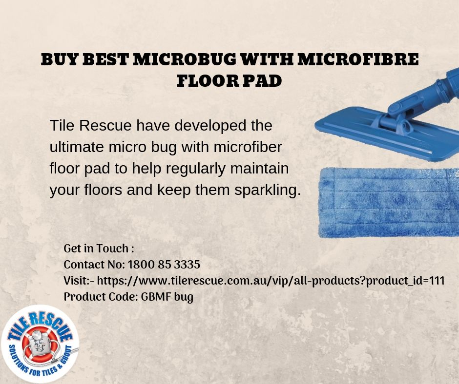 Best microbug with microfibre floor pad microfibre pad