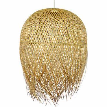 Suspension bambou nest merce équitable pas cher C