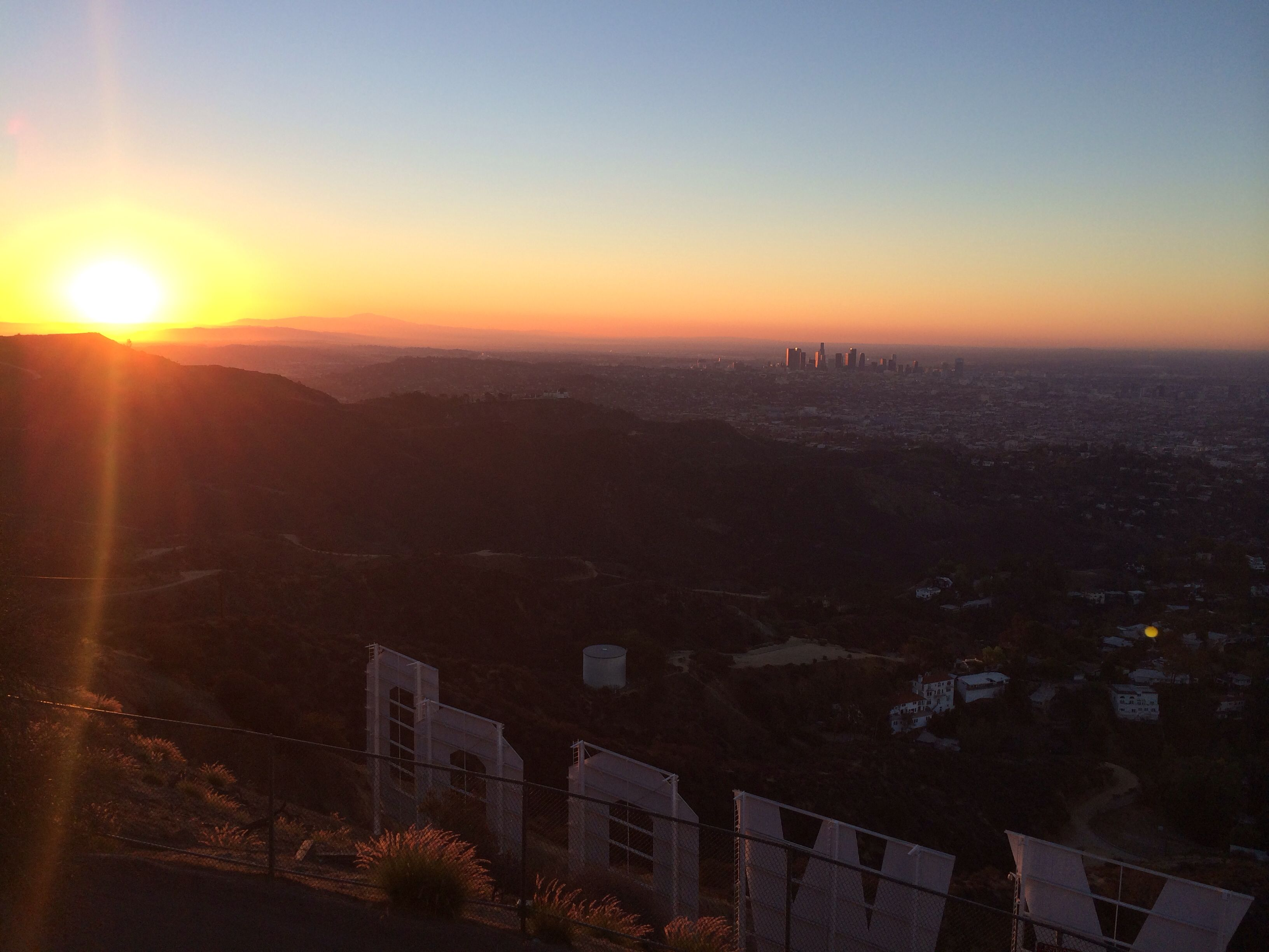 The Hollywood Sign Hike At Sunrise