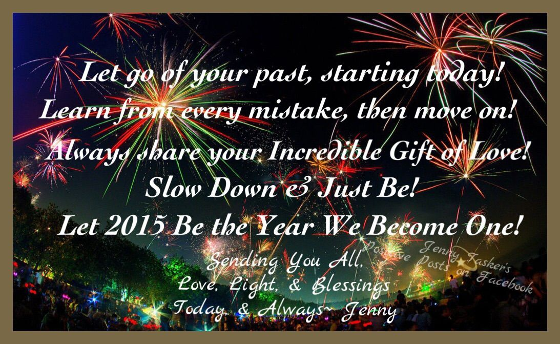 Happy New Year Love, Light, & Blessings Jenny Visit