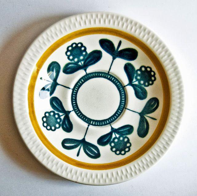 Retro Pottery Net Stavangerstunning Inger Waage Kon Tiki Pottery Vintage Pottery Ceramic Decor