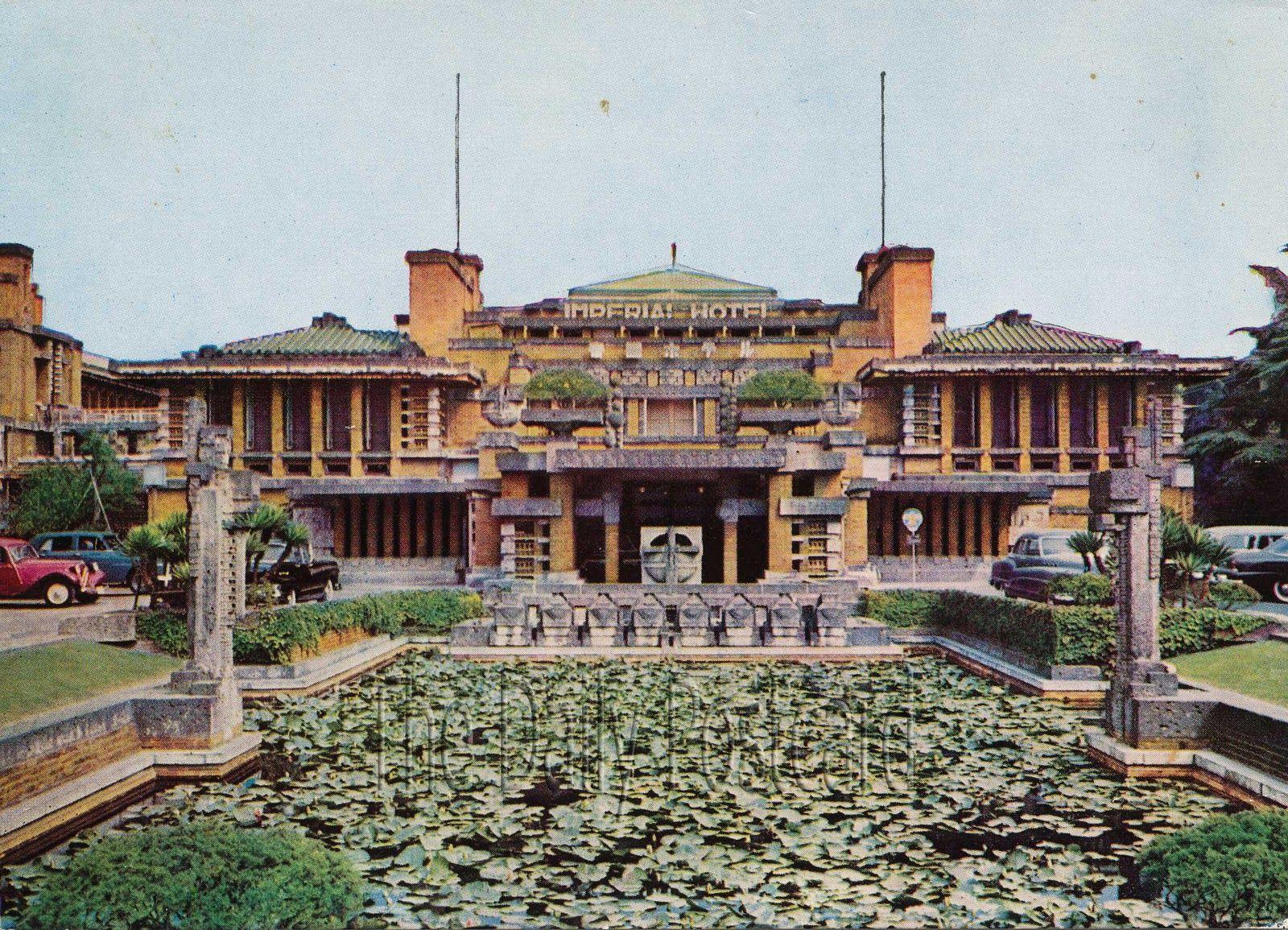 Frank Lloyd Wright Imperial Hotel Tokyo Japan Art