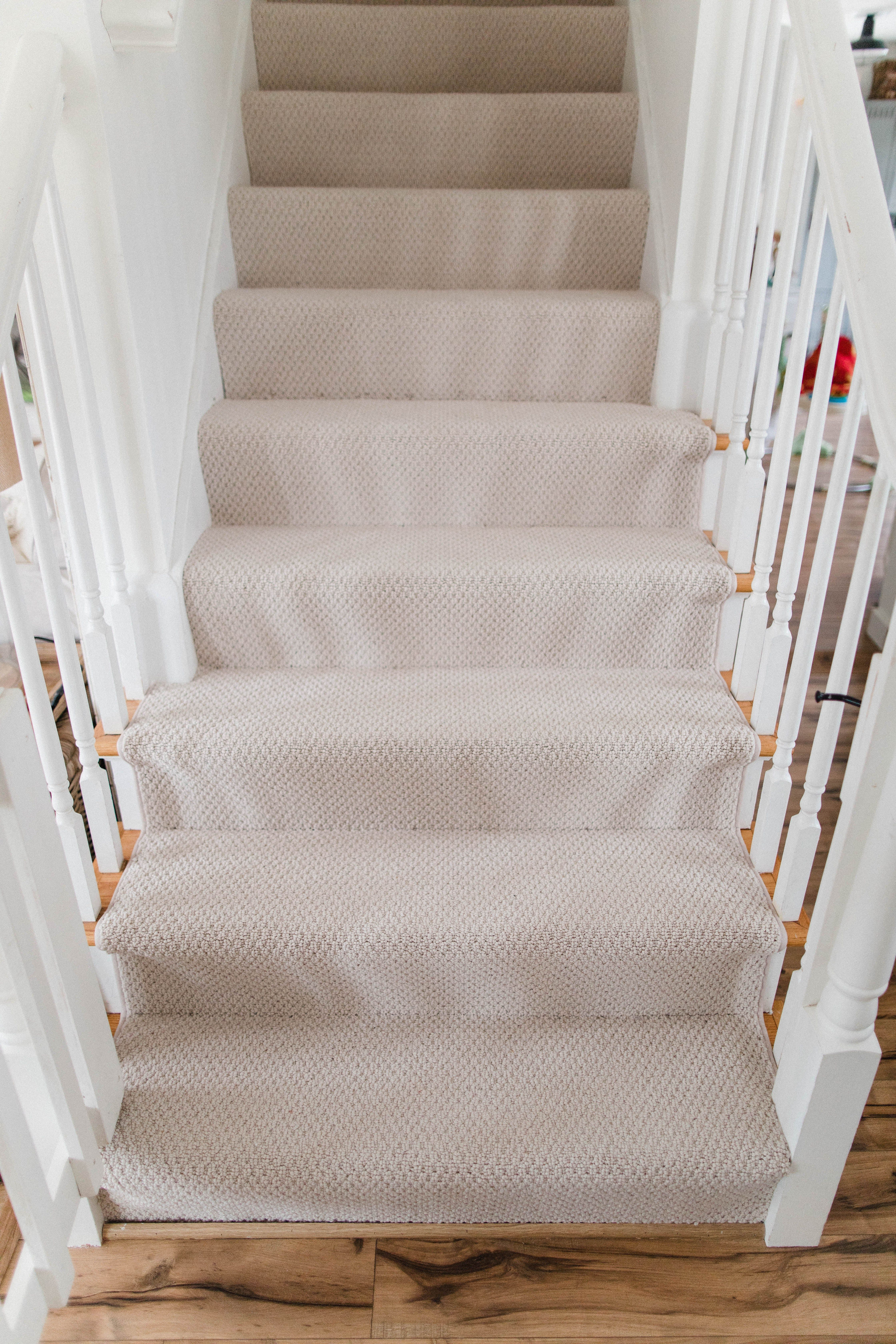 Why We Installed Wall To Wall Carpeting Upstairs Lauren Mcbride Bedroom Carpet Colors Carpet Stairs Wall Carpet