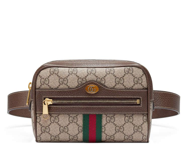 edd15fa0d663 Ophidia GG Supreme small belt bag   Gucci   Designer belt bag, Gucci ...