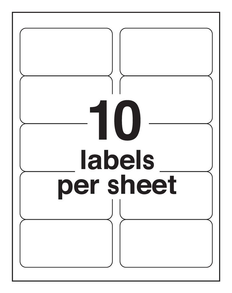 Avery 8163 Template : avery, template, 10-Up, Blank, Shipping, Labels, (Avery, Template), Intended, Label, Template, Profess…, Avery, Labels,, Templates,, Address