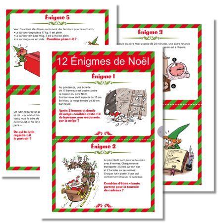 12 nigmes de no l math matiques cycle 3 no l math matiques christmas games - Christmas cycle 3 ...