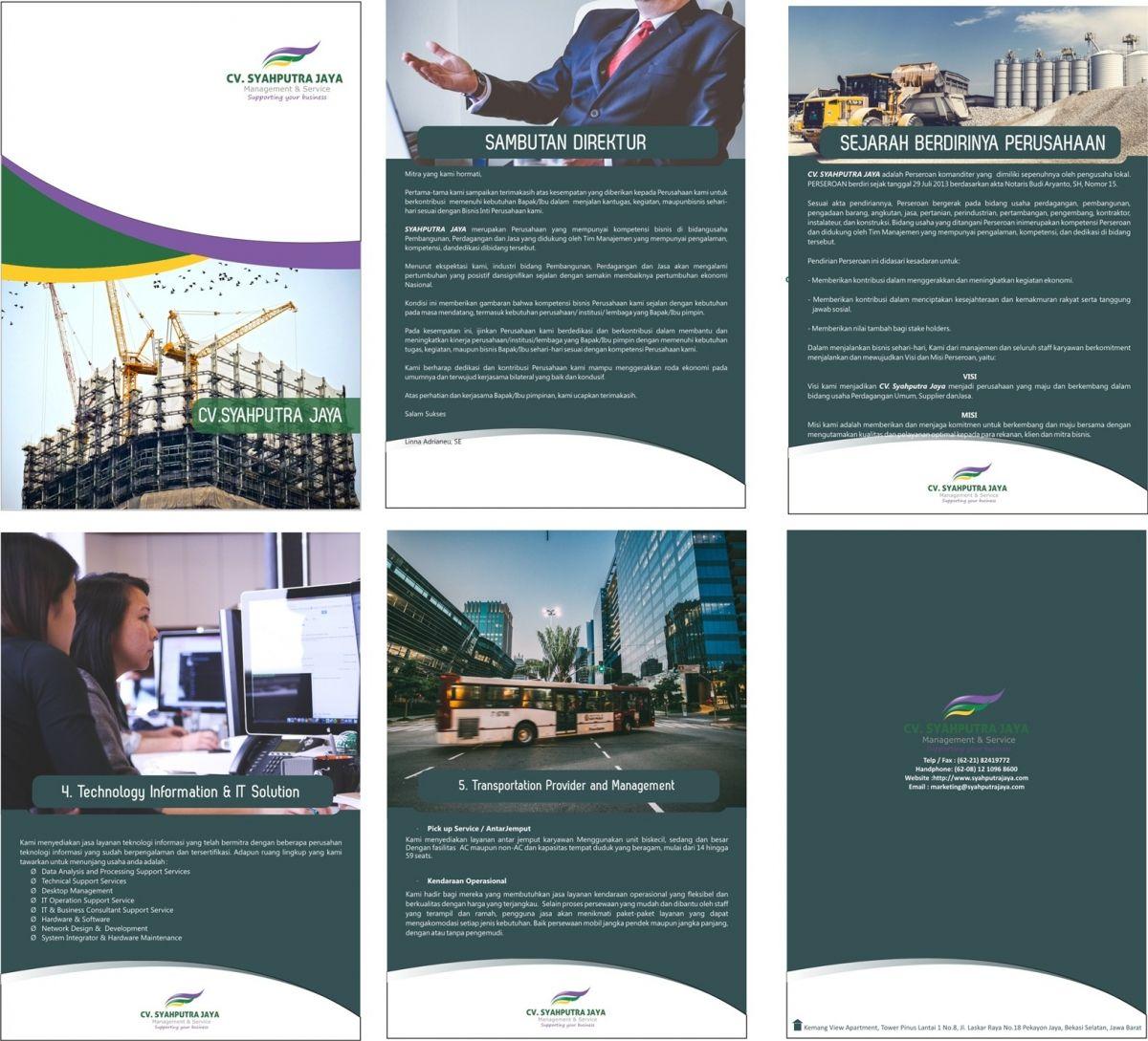 Cara Membuat Company Profile Dan Isi Materinya Sejarah Pendiri