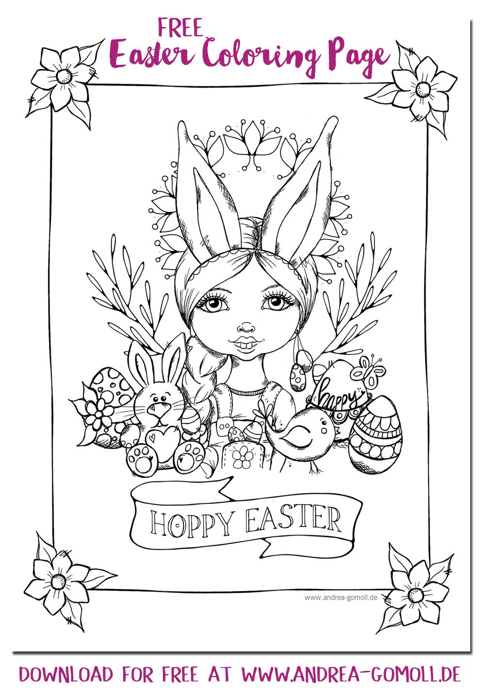 Cre8tive Cre8tions by Andrea Gomoll | Free Printable Hoppy Easter ...