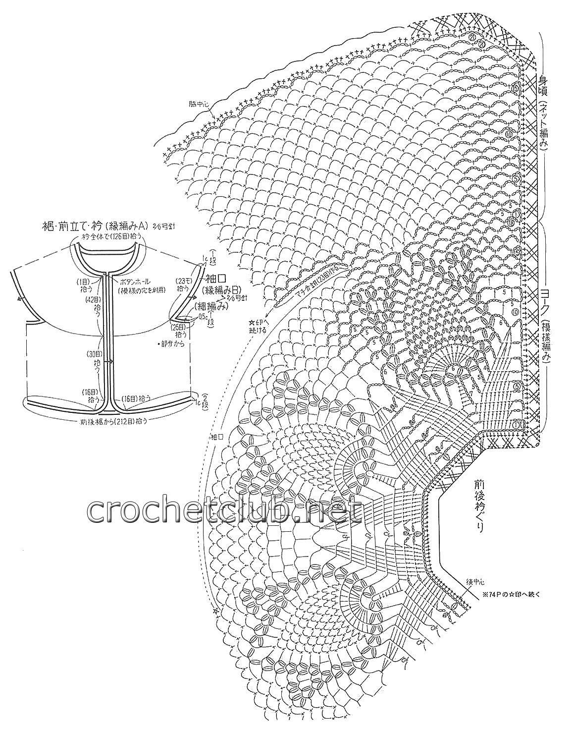 пин от пользователя Jeannette Ulloa на доске Crochet Clothing