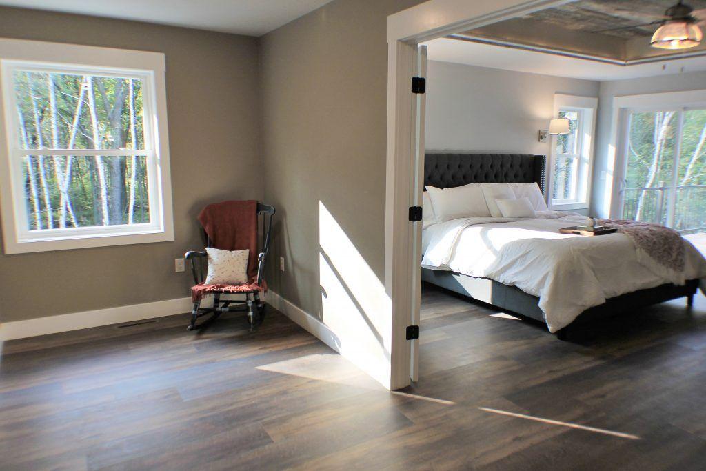 Dark Luxury Vinyl Plank Bedroom Floor Luxury Vinyl Plank