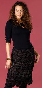 crocheted skirt ~ free pattern