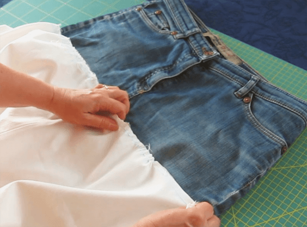 Pin von Tanja auf Nähideen   Pinterest   Tellerrock, alte Jeans und ...