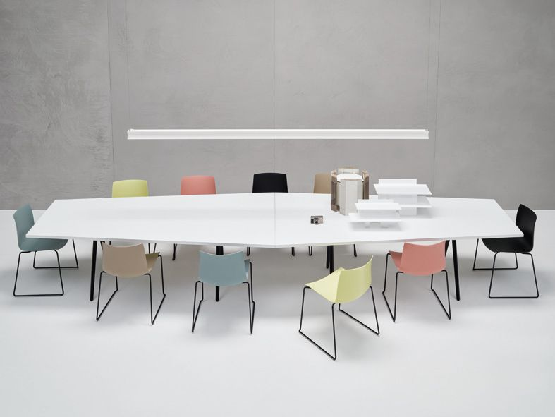 Catifa 46 + Meety Table/ Design Lievore Altherr Molina #Arper  #milandesignweek2016