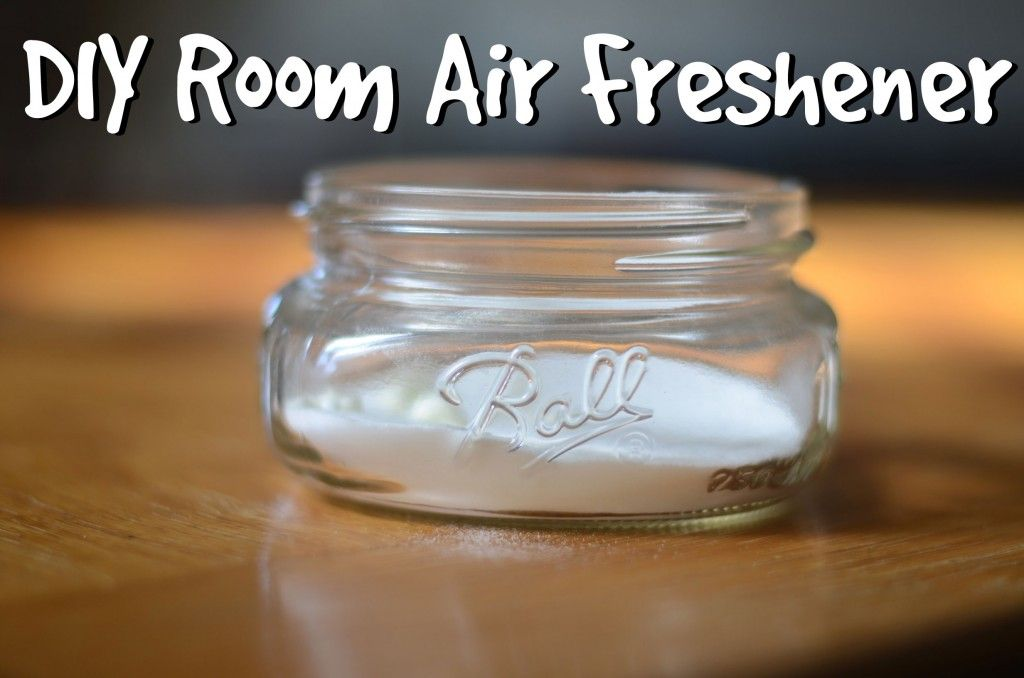 Baking soda and a few drops of Essential oils and put it in a pretty container or just a jar.. Tah dah!!