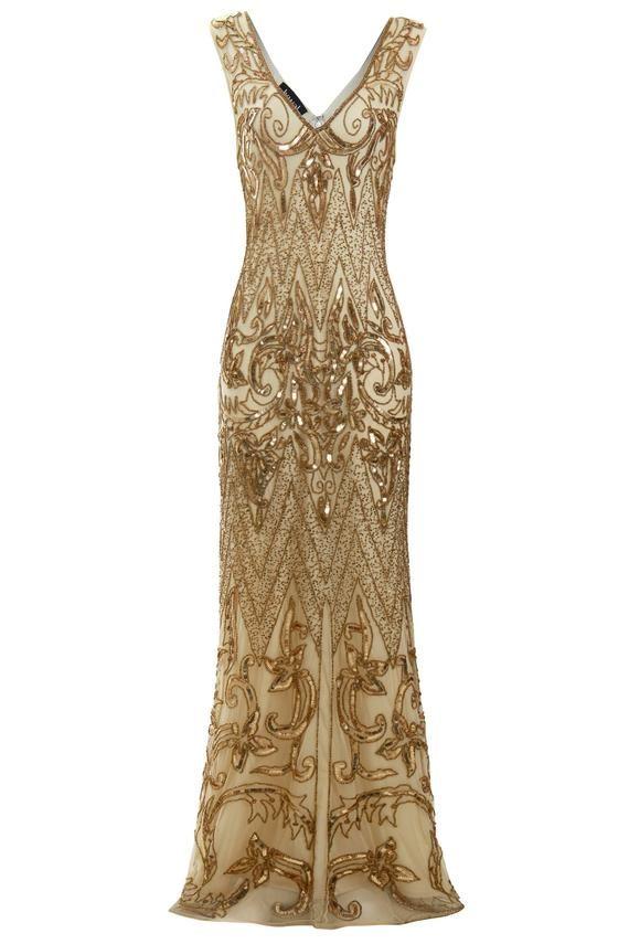 13+ Great gatsby gold dress ideas in 2021