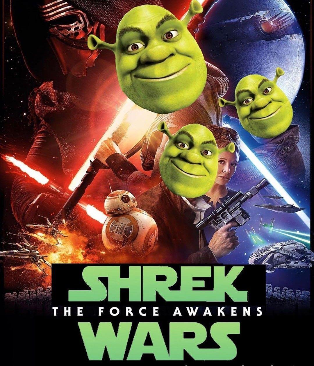 Pin By Shrexy On Shrek Shrek Memes Shrek Force Awakens