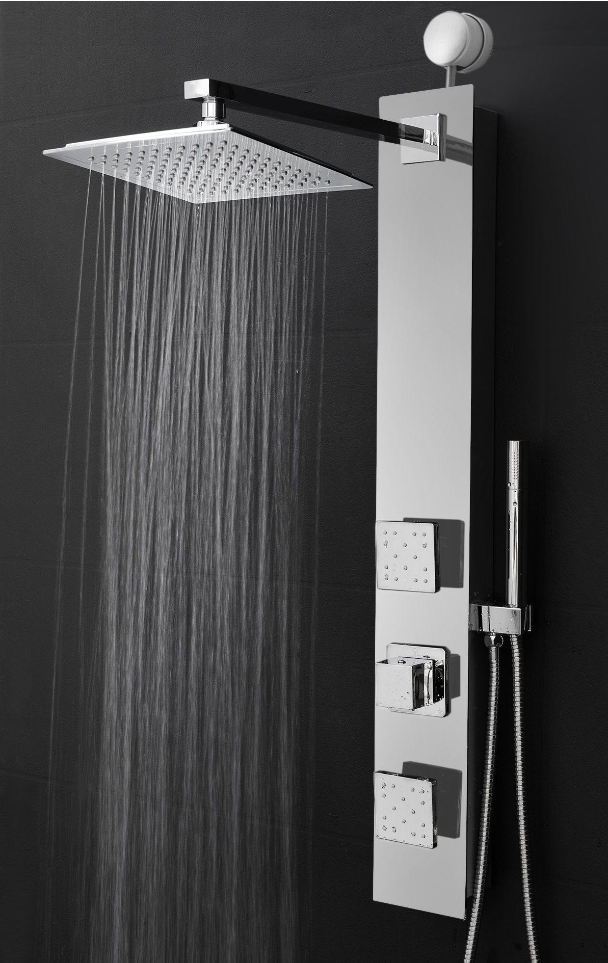 Home Improvement In 2020 Shower Panels Shower Heads Adjustable