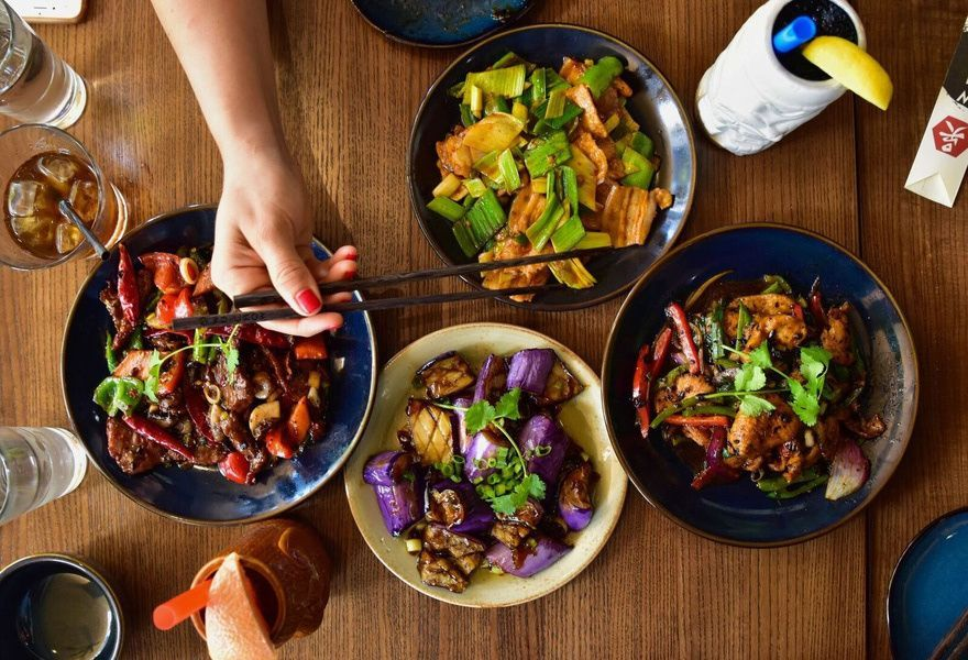 Wu Chow Brings Authentic Farm Fresh Modern Chinese Food To The Heart Of Downtown Austin Offering Dishes Representative Of All Food Set Up Food Chinese Food