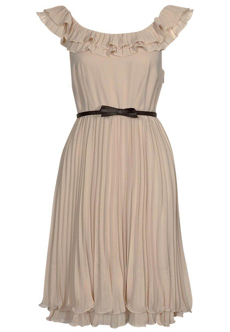 s.Oliver Selection Kleid - beige  Style Me Up  Summer dresses