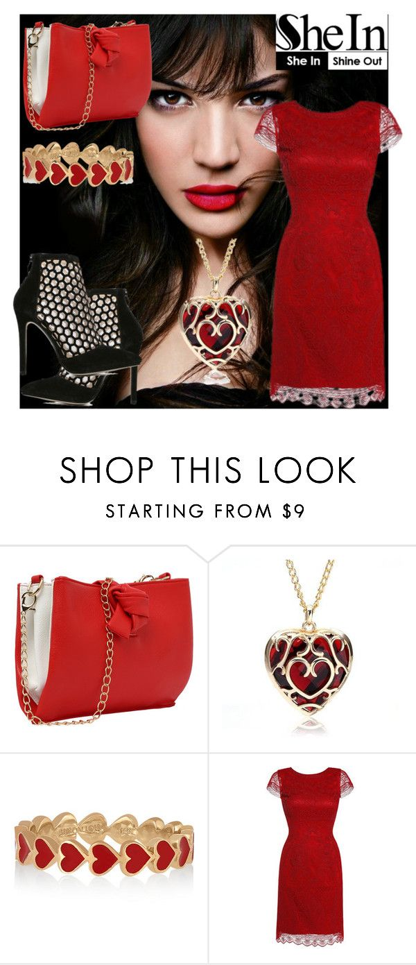 """""""5#SheIn"""" by fatimka-becirovic ❤ liked on Polyvore featuring IVI and Alison Lou"""