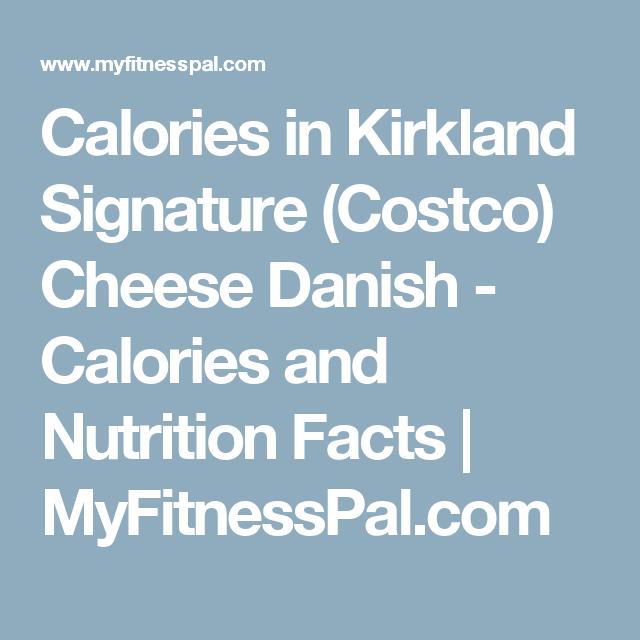 Calories in Kirkland Signature (Costco) Cheese Danish