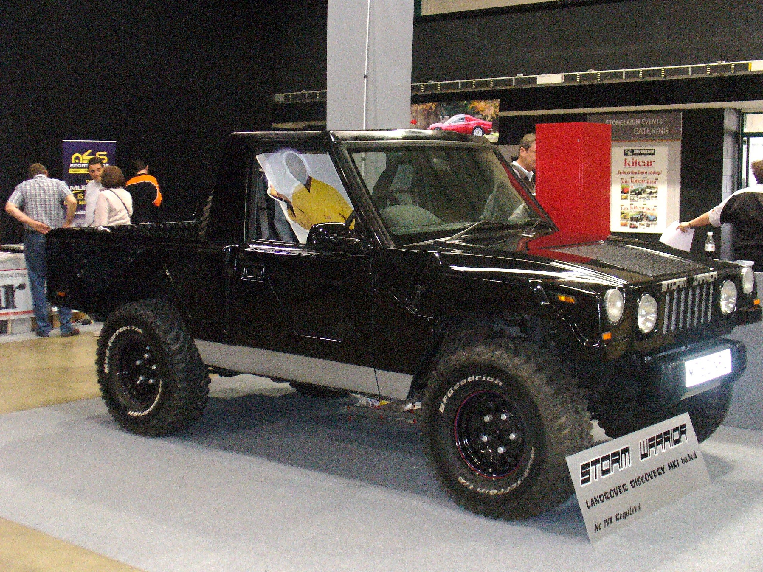 Storm Warrior 2 Thunderwagon Landrover Disco Mk1 Based Kit Car