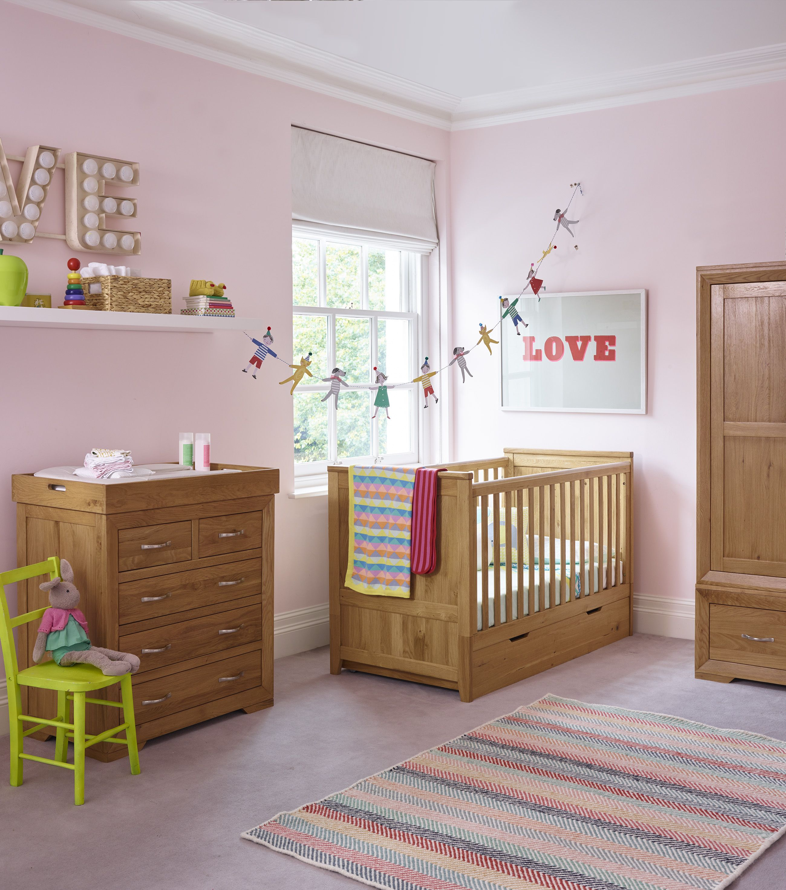Oak Nursery Furniture Cot Beds Baby Changing Dressers Nursery Furniture Oak Furniture Furniture
